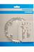Shimano Deore FC-M510 kettingblad 104 mm zilver